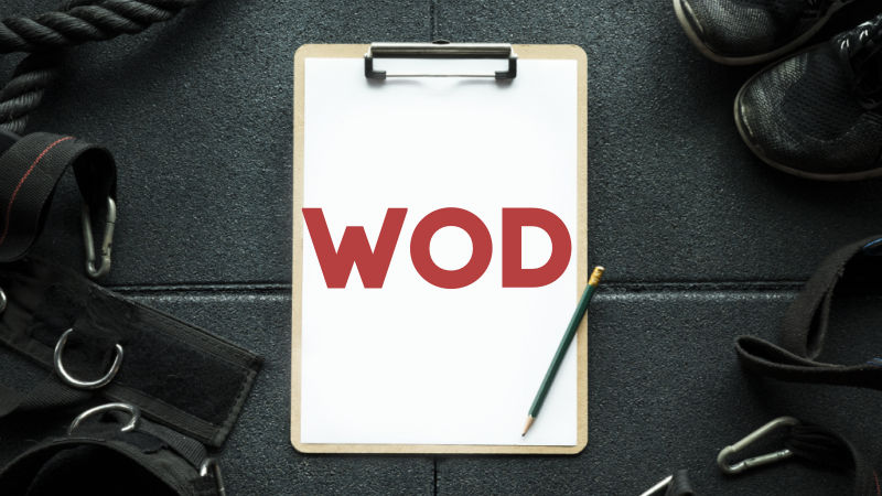 What Does WOD Mean in CrossFit